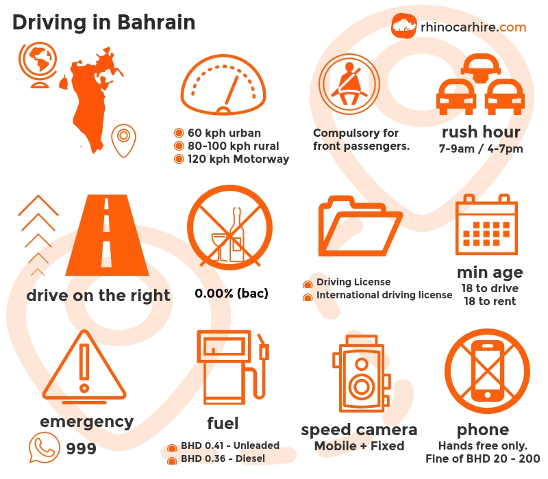 Driving in Bahrain