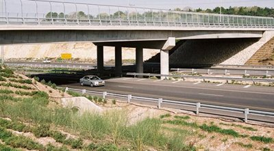 Toll Road in Israel - Highway 6