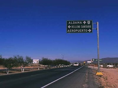 Mexico Motorway Signs