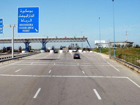 Morocco toll roads