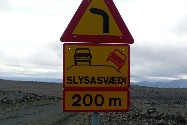 Faroe-Islands-Road-Sign