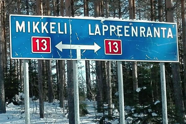 Finland-Road-Sign