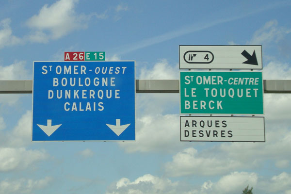 France-Motorway-Sign