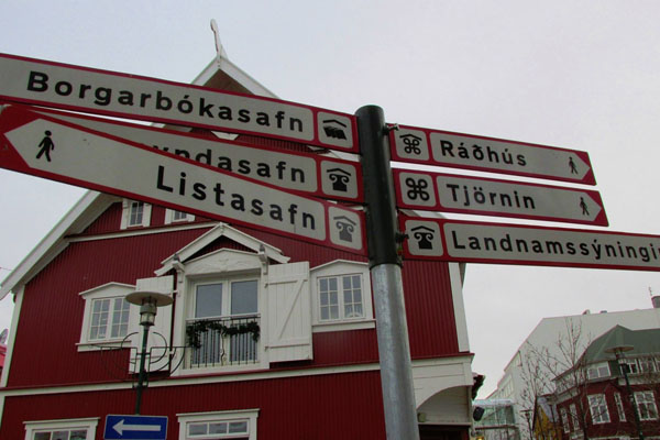 Iceland-Road-Sign