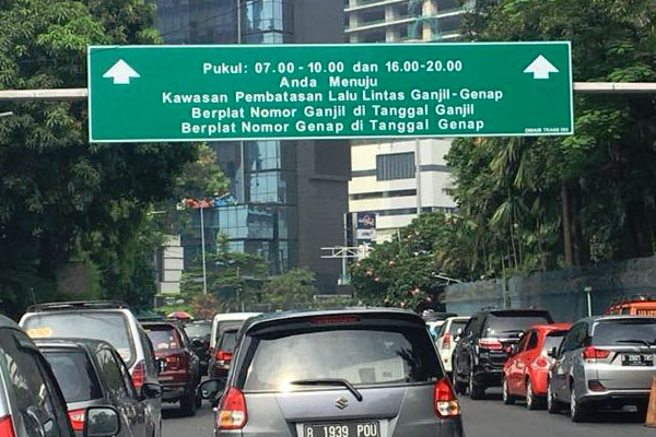 Indonesia-Road-Sign
