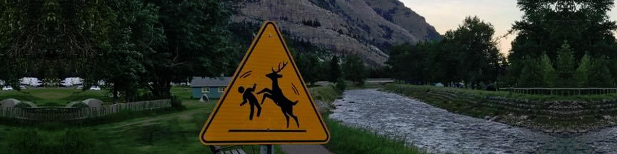 Canada road signs
