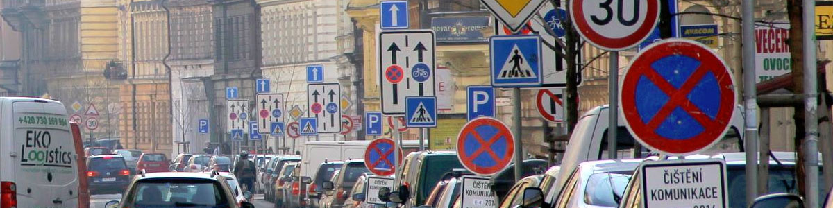 Czech Republic road signs