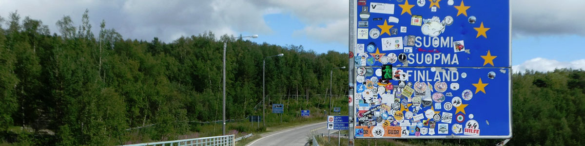 Finland Road Signs
