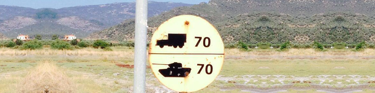 Greece Road Signs