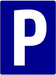 Parking permitted - Road Sign