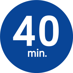 Driving faster than indicated compulsory (minimum speed) - Road Sign