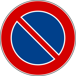 No parking - Road Sign
