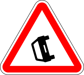 Warning for accidents - Road Sign
