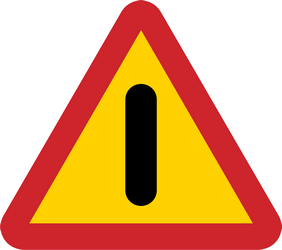 Cars not allowed - prohibited - Road Sign