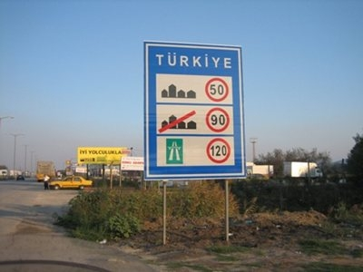 Turkey Speed Limits