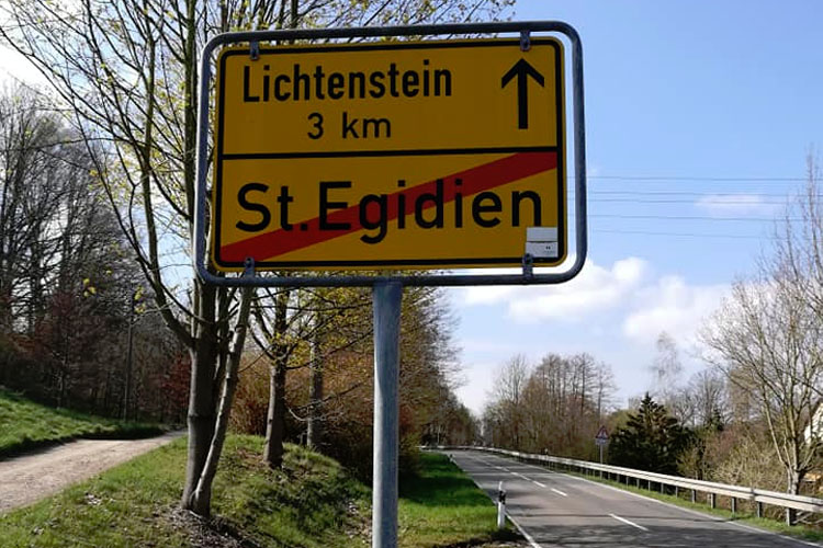 driving in Liechtenstein