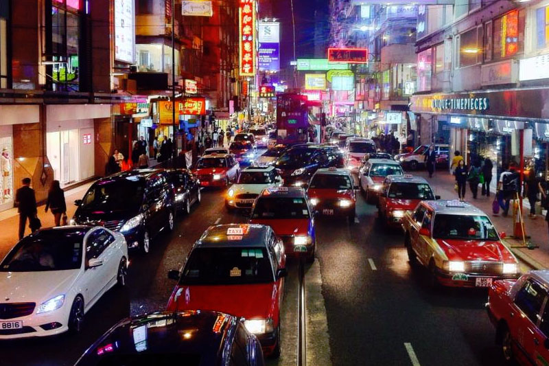 driving in hong kong