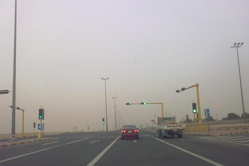 driving in kuwait
