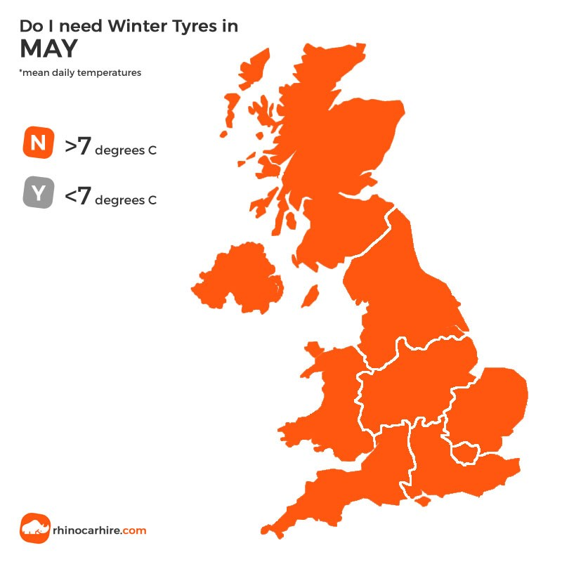 winter tyres in may