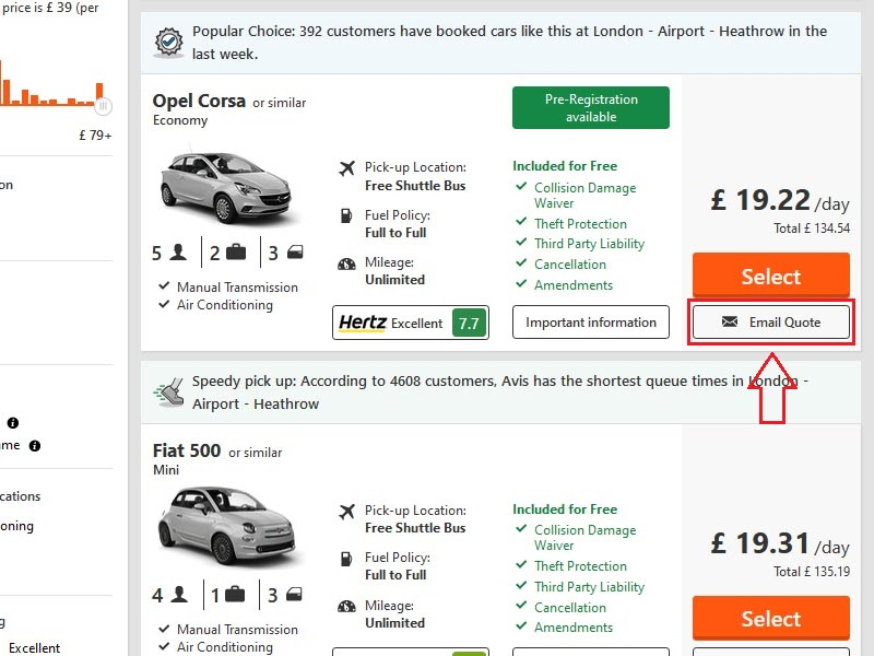 how to book multiple rental cars