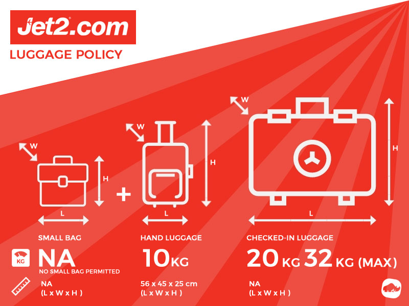jet2 excess baggage allowance