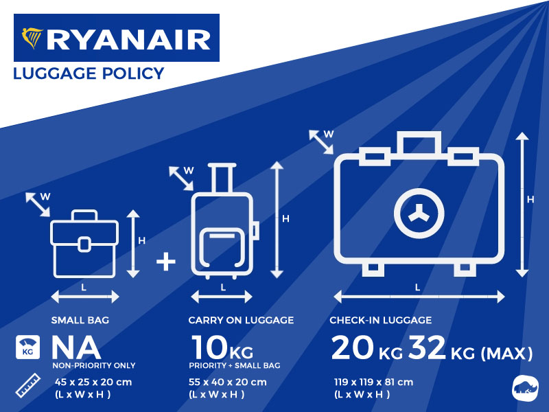 Ryanair Excess Baggage Allowance