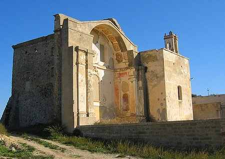 Old Building in Craco