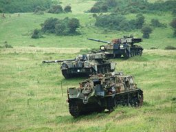Tanks at Tyneham