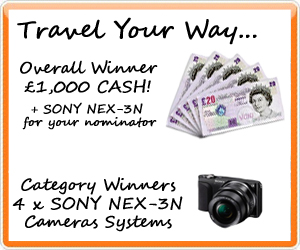 Travel Your Way Prizes