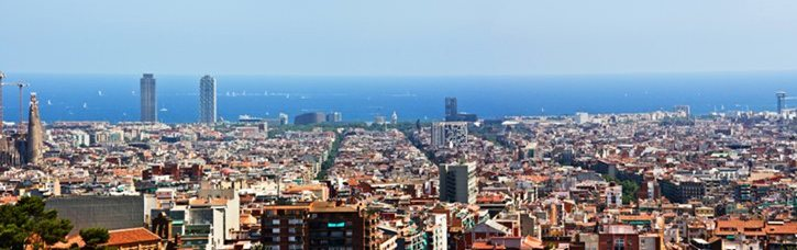 Panorama of Barcelona - Catalonia