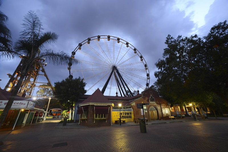 Gold Reef City and Old Gold Mine