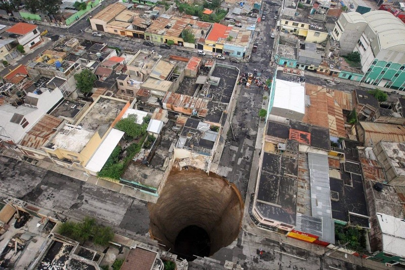 The Guatemala City Sink Hole, Guatemala City