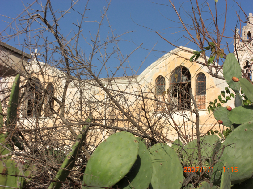 Behind Church Famagusta Cyprus