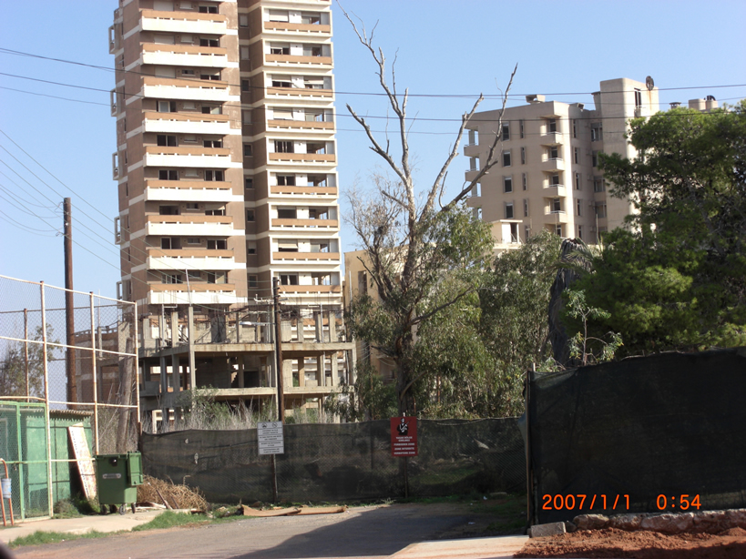Bombed Building In Varosha