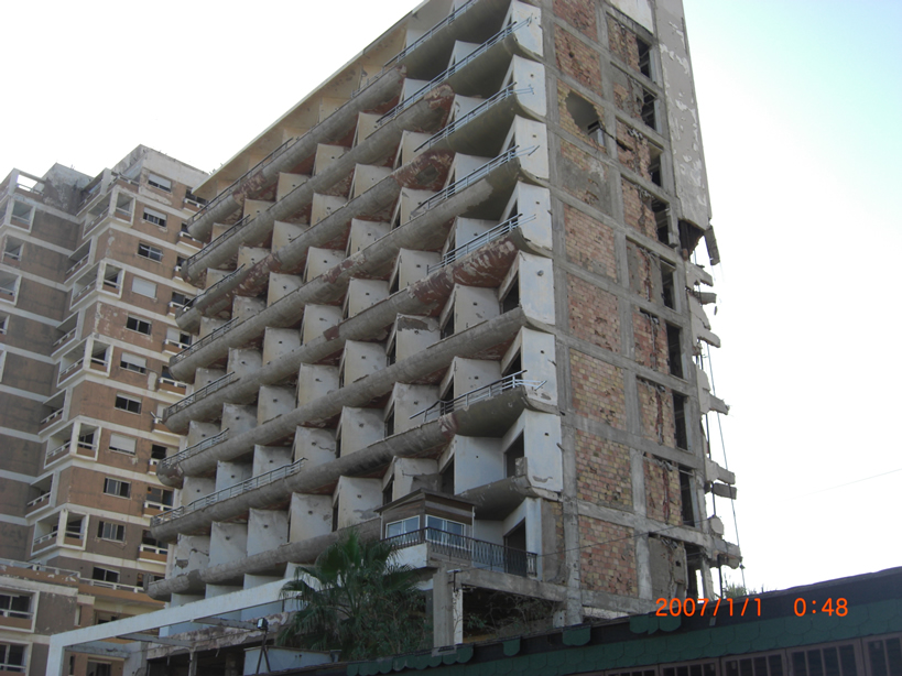 Bombed out Hotel Famagusta 1
