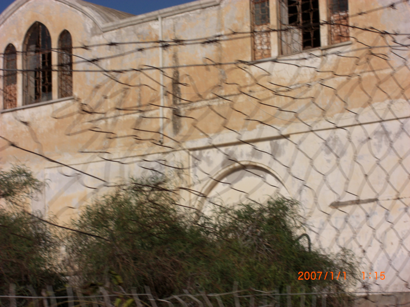 Church Famagusta Ghost Town