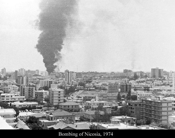 Bombing of Nicosia 1974 Cyprus