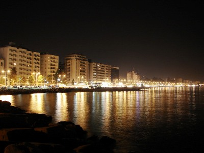 Limassol at Night Picture