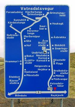 Confusing Road Sign in Iceland