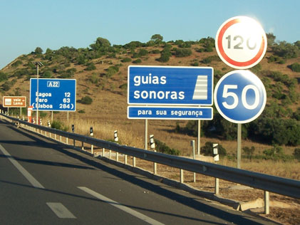 Speed Trap Warning Sign Portugal
