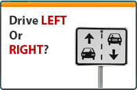 Drive on the Left or Right by Country