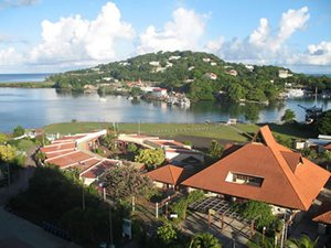 Harbour at St Lucia