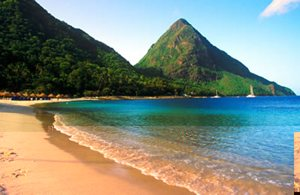 St Lucia Anchor Beach