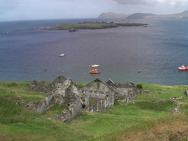 Great Blasket Derelict House