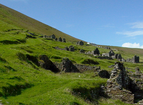 Great Blasket Ruins
