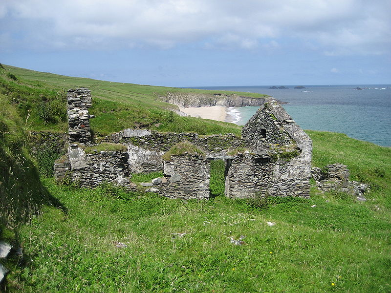 Great Blasket House Ruins