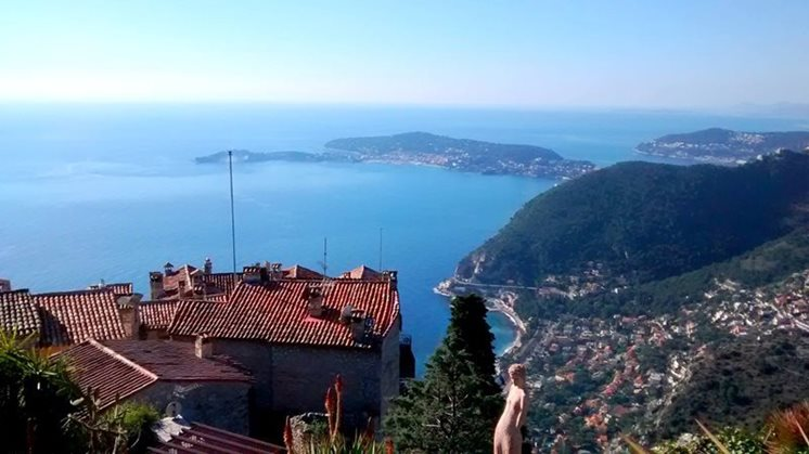 French Riviera view