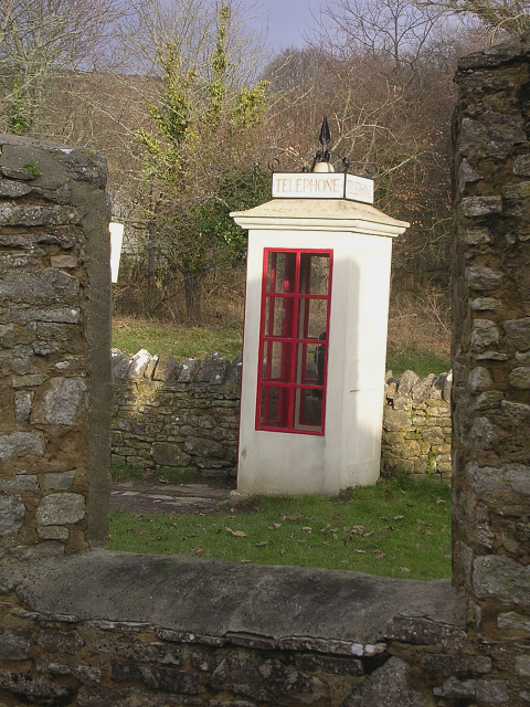 Tyneham Old Telephone Box