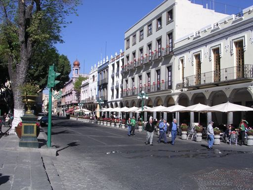 Picture of the Main Square in Puebla