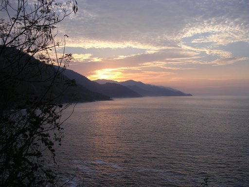 Sunset in Puerto Vallarta